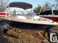 2006 Bayliner 175 Bowrider w/ 3.0 Mercruiser I/O Engine