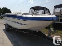 190 Four Winns Deck boat1989 Four Winns 190 Deck Boat