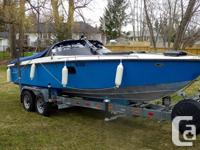 Re-powered in 1996 with 350 Magnum. Serviced annually