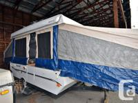 twelve feet Tent TrailerKing & Queen