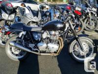 2014 Triumph Thruxton With low miles, Arrow full system