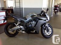 New CBR650F .Color outside the lines D30702 Stock HO