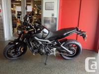 New .The FZ-09, a naked sports roadster powered by a