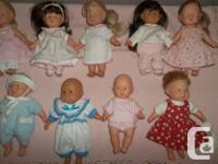 NEW PRICE !!!! 1/26/2019 I have 8 Corolle dolls,1