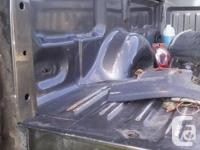 8 foot box from the southern USA. No rust. Includes