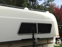 Heavy Duty fiberglass canopy. Super strong