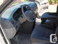 Make Toyota Model Sienna Year 2004 Colour gray kms