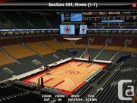 Raptors Season tickets holder offering Game 1 & Game 2