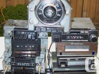 Misc. am / fm cassettes Ford GM Mopar two 8 tracks &