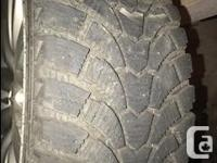 For Sale Almost new winter tires 225/40R18 on