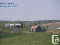 Solid comfortable Farm house on 100 acres on Merigomish