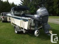 Well built boat, just refurbished with NEW 25 in. Alum.
