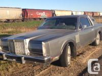 Make Lincoln Model Continental Year 1981 Colour Silver