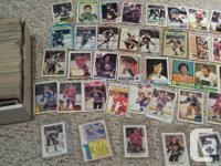 approx 400ish diverse opc hockey cards. mostly 80s with
