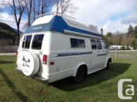 81 Dodge camper van available for sale - $4750.-.  new
