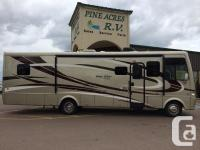 This lightly pre-owned class A was sold at Pine Acres