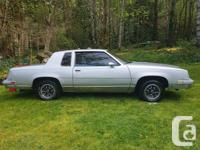 Make Oldsmobile Year 1982 Trans Automatic I cut $1300