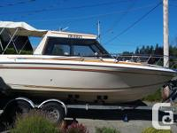 4.2 mercruiser rebuilt in 2014 comes with 8 hs Honda