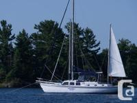 """Speedwell, a Cal 2-46, is very much a """"good old boat."""""""