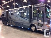 2006 QSH with King sized bed and desk layout. Has Euro