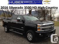 Description: 4x4 Silverado High Country HD, Duramax,
