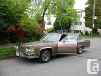 Make Cadillac Year 1984 Colour brown Trans Automatic
