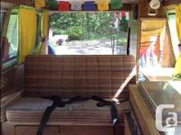 1984 volkswagon vanagon Get away camper van with for sale  British Columbia