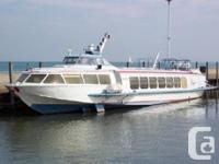 1989 90� x 14.4� x 7.5� Aluminum Voskhod Hydrofoil/Fast