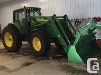 7320 2007 John Deere 7320, Row Crop Tractors, c/w 16spd