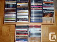 87 CDs in excellent disorder. Best deal for the lot (or