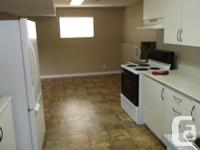 Large 2 bedroom basement suite, serviced timber fire