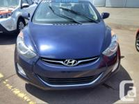 Make Hyundai Model Elantra Year 2013 Colour Blue Trans