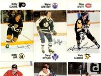 48 card complete set of 88/89 Esso NHL superstars, all