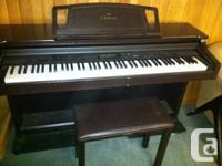 88-Key CLP611 Clavinova Digital Piano with Advanced