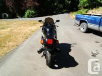 Make Kawasaki Year 1988 kms 46753 This bike is all
