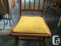 Price is reflective of 1 chair only. The items posted