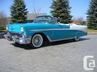 1956 Chevrolet BelAir Convertible The recipient of a