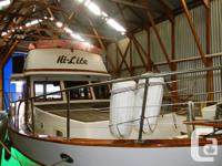 This Europa style CHB is a very well in a boathouse