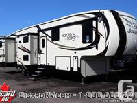 Description: The 2016 North Point 375BHFS, by Jayco,
