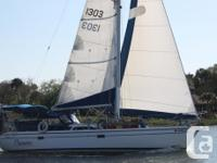 This Catalina 34 Mk II is loaded and ready to go