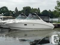 White Hull with Black Full Camper in Very Like-new