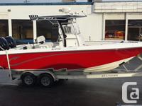 2007 Foutain 25 Middle console in e xcellent shape Twin