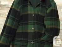 Vintage Reversible Hudson's Bay Jacket. Blanket