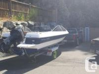 I'm selling a 89 bayliner with a evinrude 115 2 stroke