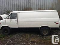 parts van,Recently rebuilt rebuilt 350 motor in it call