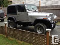 Make Jeep Model YJ Year 1989 Colour grey kms 234000