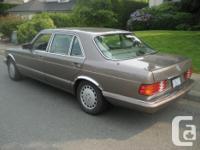 Make Mercedes-Benz Model 560 Year 1989 Colour Desert