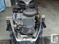 Late 90's 8Hp 4 stroke longshaft outboard motor with