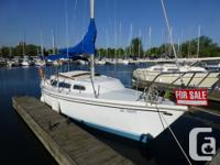1980 27 feet CatalinaBoat is in superb shape inside and
