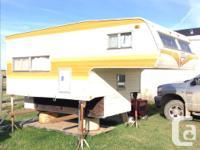 I have a older vanguard truck camper for sale in good